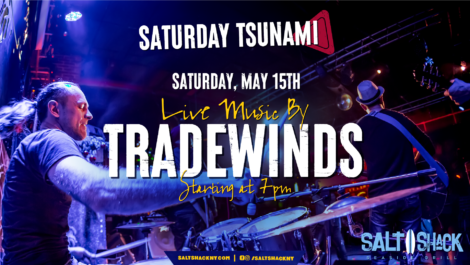 Saturday May 15th with Tradewinds