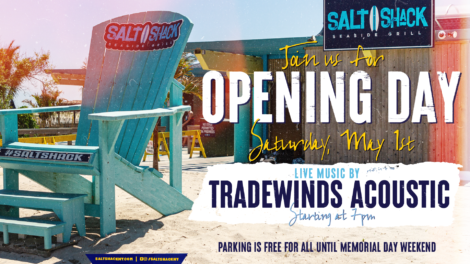 Opening Day Flyer with Tradewinds Acoustic