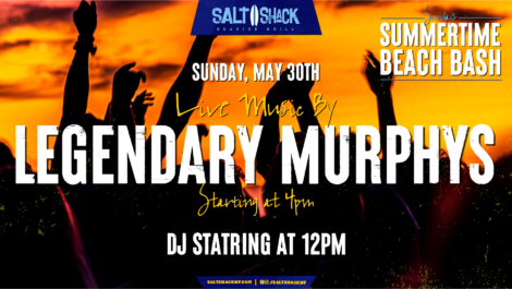 Sunday May 30th with the Legendary Murphys