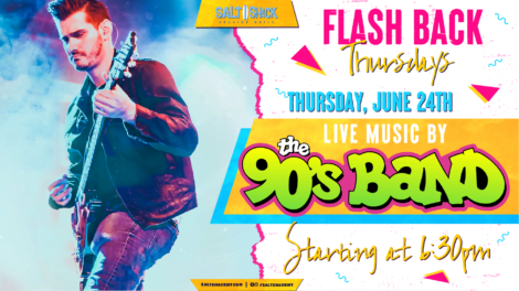 Thursday June 24th with The 90's Band