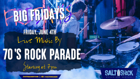 Friday June 4th with the 70s Rock Parade