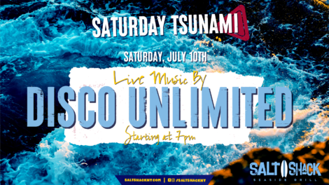 Saturday July 10th with Disco Unlimited 7:00 PM