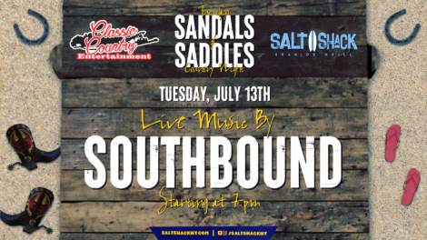 Tuesday July 13th with Southbound 7:00 PM