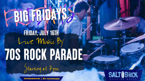 Friday July 16th with 70s Rock Parade 7:00 PM