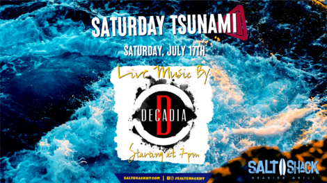 Saturday July 17th with Decadia 7:00 PM