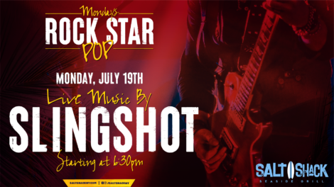 Monday July 19th with Sling Shot at 6:30 PM