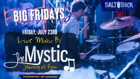 Friday June 23rd with The Mystic 7:00 PM