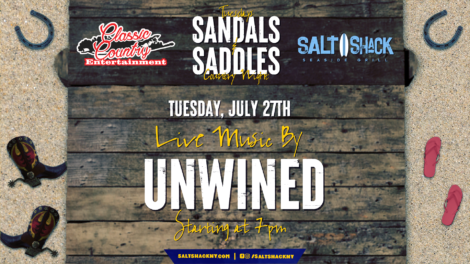 Tuesday July 27th with Unwined 7:00 PM