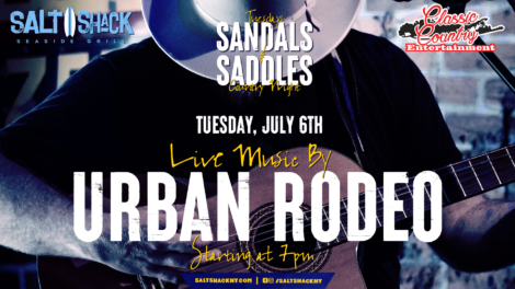 Tuesday July 6th with Urban Rodeo 7:00 PM